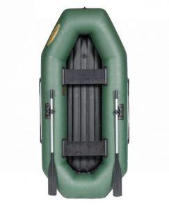 Лодка ПВХ Лоцман С-260 ВНД надувная гребная