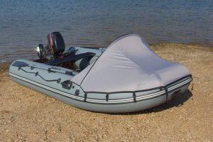 """Тент носовой на лодку под мотор Пилот """"М-300"""" (""""М-320"""")"""