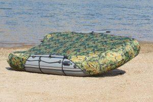 Фото Тент транспортировочный на лодку Пилот М-320 зеленый