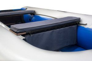 Фото мягкой накладки с сумкой (верх ткань) (60 см)