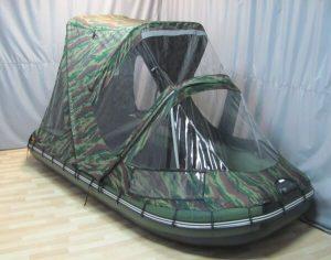 Фото тента-комби на лодку Ривьера 3600 СК (КОМПАКТ)