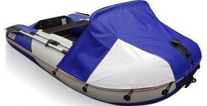 Фото носового тента для лодки СТЕЛС 275 и 275 АЭРО
