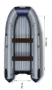 Фото лодки Флагман 380 НДНД